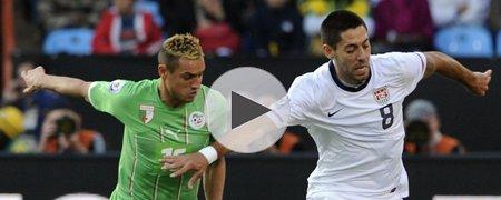 美国1-0阿尔及利亚 上半场