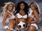 高清:超模拍摄性感运动大片助阵世界杯