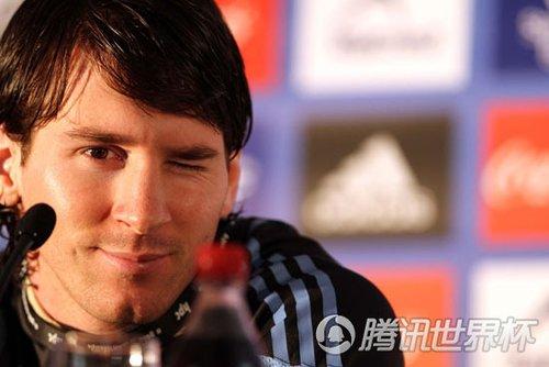 梅西承认阿根廷目标决赛 自曝已找到捧杯诀窍