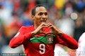 图文:葡萄牙7-0朝鲜 利德松庆祝进球