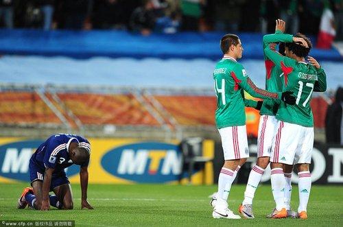 世界杯-法国0-2不敌墨西哥 小组出线命悬一线