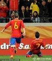 比利亚攻入一球