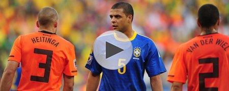 荷兰2-1巴西 上半场