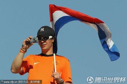 2010世界杯E组次轮:荷兰Vs日本