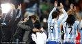 图文:阿根廷3-1墨西哥 阿根廷球员致谢球迷