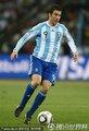 图文:阿根廷3-1墨西哥 伊瓜因带球