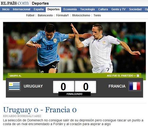 国家报:法国队继续低迷 唯一亮点防守住弗兰