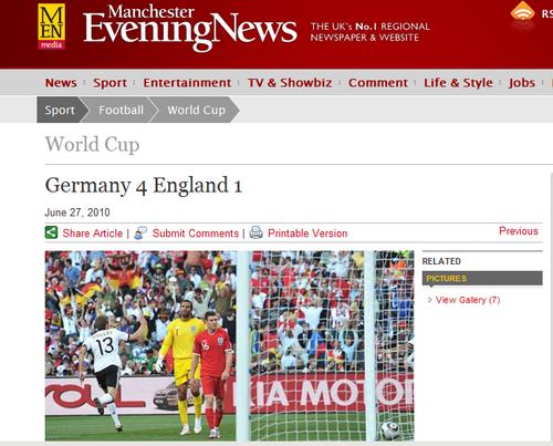 英媒:防守反击打垮英格兰 4-1冲淡三狮冤屈