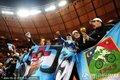 图文:阿根廷3-1墨西哥 阿根廷球迷激情助威