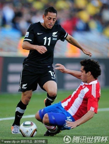 2010世界杯F组末轮:巴拉圭Vs新西兰