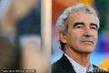 图文:法国1-2南非 多梅内克场边观战