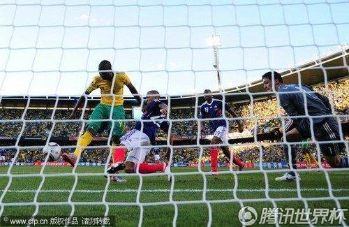2010世界杯小组赛A组末轮:法国1-2南非