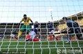 图文:法国1-2南非 穆费拉进球瞬间