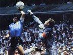 视频:马拉多纳世界杯集锦 淘汰英格兰成经典