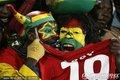 加纳球迷激情助威