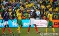 图文:法国1-2南非 双方队员都很失望