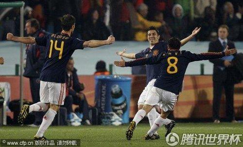 2010世界杯:西班牙vs智利
