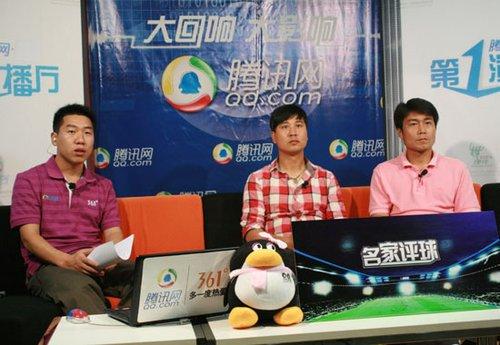 主持人(左)祁宏(中)申思(右)