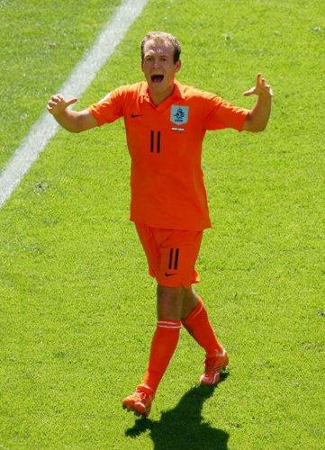 罗本:西班牙最大威胁非比利亚 荷兰防守制胜