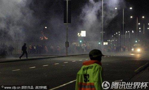 2010世界杯:德班球场全员罢工 抗议组委会克扣工资