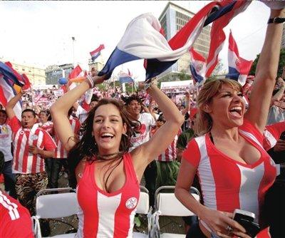 京华时报:巴拉圭女神拉里萨