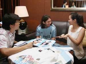 张靓颖:我是预测帝 阿根廷和梅西慢热走到底