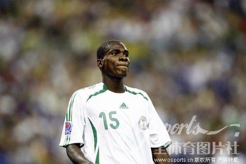 尼日利亚世界杯大名单之伊德耶