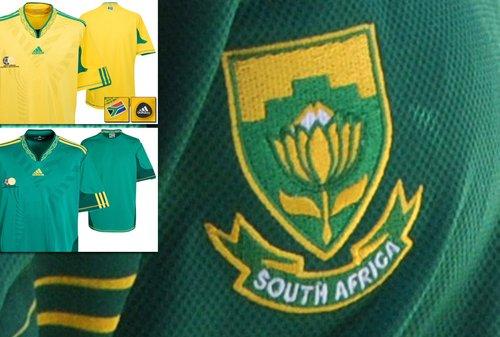 南非国家队球衣——开启个性化时代