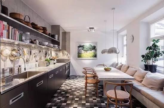 小户型厨房如何装修?选好橱柜样式最重要
