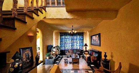邂逅神秘异域酒店感受天津摩洛哥v异域北非的情趣气息椅有图片