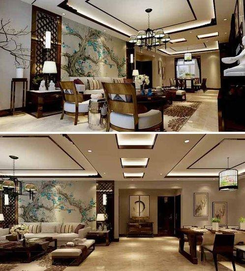 奢华新中式风格装修实例图片