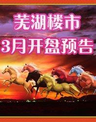 芜湖3月开盘预告