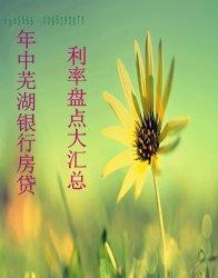 2014芜湖年中银行房贷利率盘点大汇总