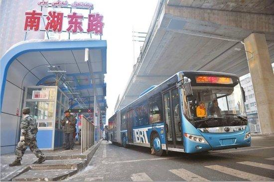 乌鲁木齐BRT5号线延伸线土建部分本月中旬完工