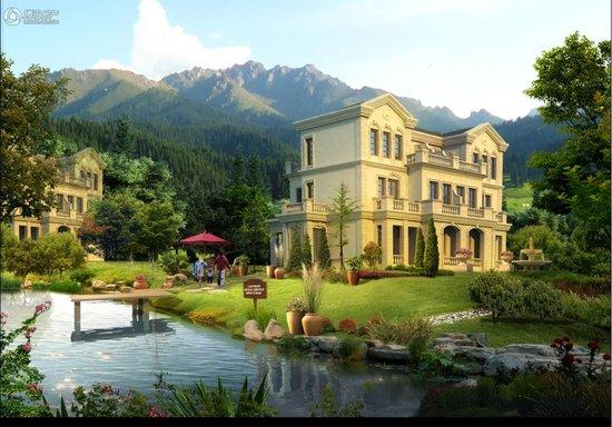 御泉花城 让你品尝浪漫的法式建筑风格
