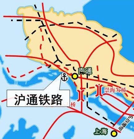 沪通铁路月底开工 无锡市民可坐火车去南通
