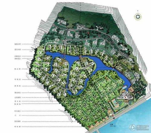 6 半山一号 半山一号位于无锡太湖风景区马山半岛,总建筑面积58784 平
