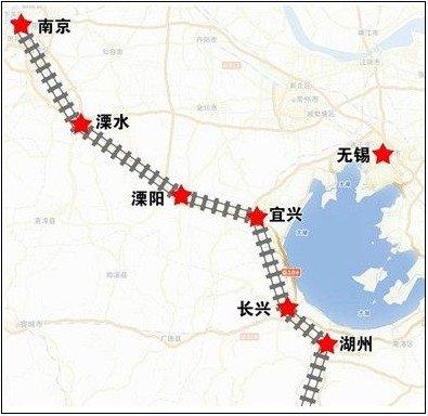 宁杭高铁开通在即 宜兴到南京杭州仅需半小时