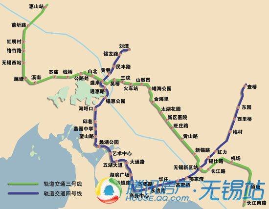 地铁3号线初探系列 14 无锡站勘探 惠及3楼盘