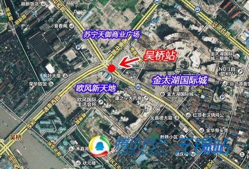 地铁三号线吴桥站区位图-地铁3号线初探系列 12 吴桥站勘探惠及3楼盘图片