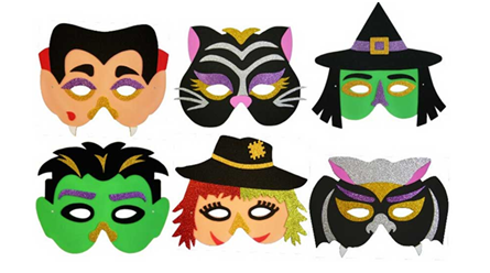 这个万圣节 复地公园城面具DIY即将精彩启幕
