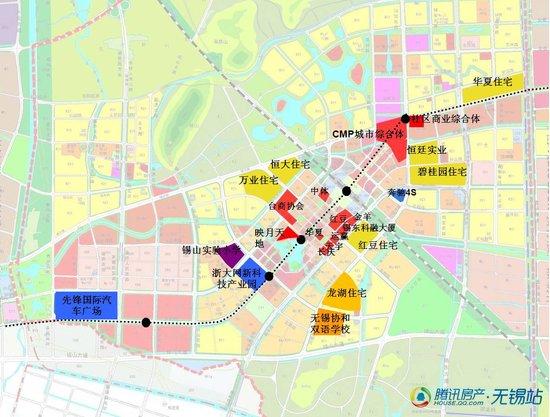 锡东新城规划图-5年蝶变告别4字头 锡东新城潜力受肯定