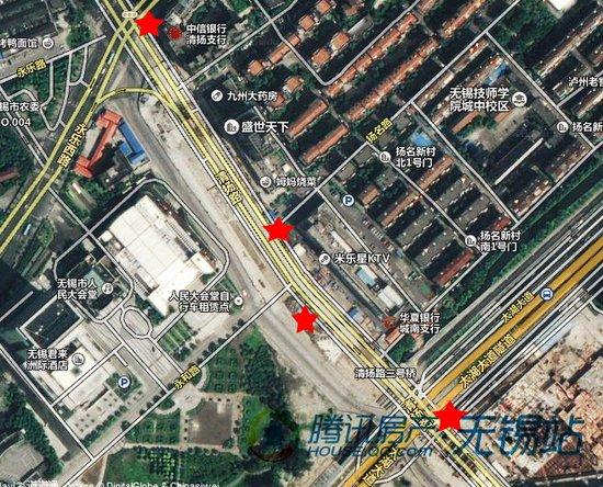 太湖广场站卫星地图