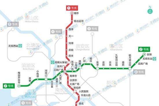 快讯 无锡地铁2号线下周四 18号 开始试乘图片