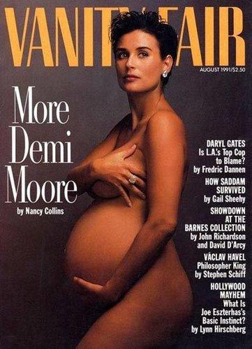 公开拍大肚孕妇照的女星