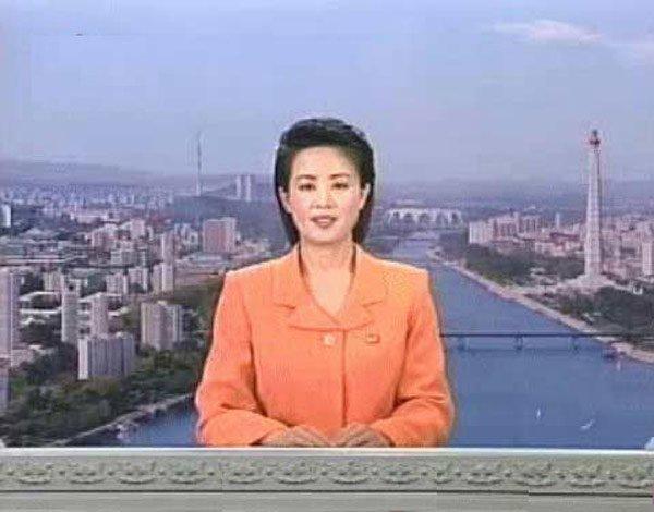 朝鲜女播音员图片