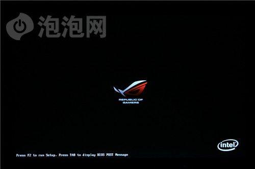 华硕开机logo图片_