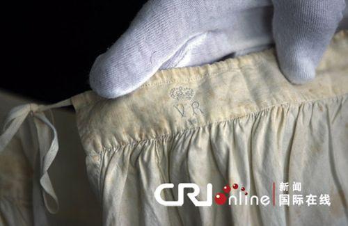 英国维多利亚女王内衣裤被定为国家遗产(图)