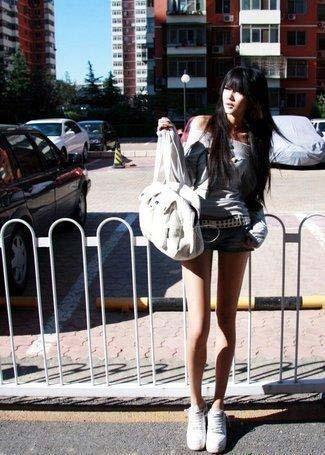 中国第一腿模特图片