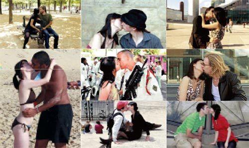 向百个男人索吻女孩:我触动了亚洲男人弱点